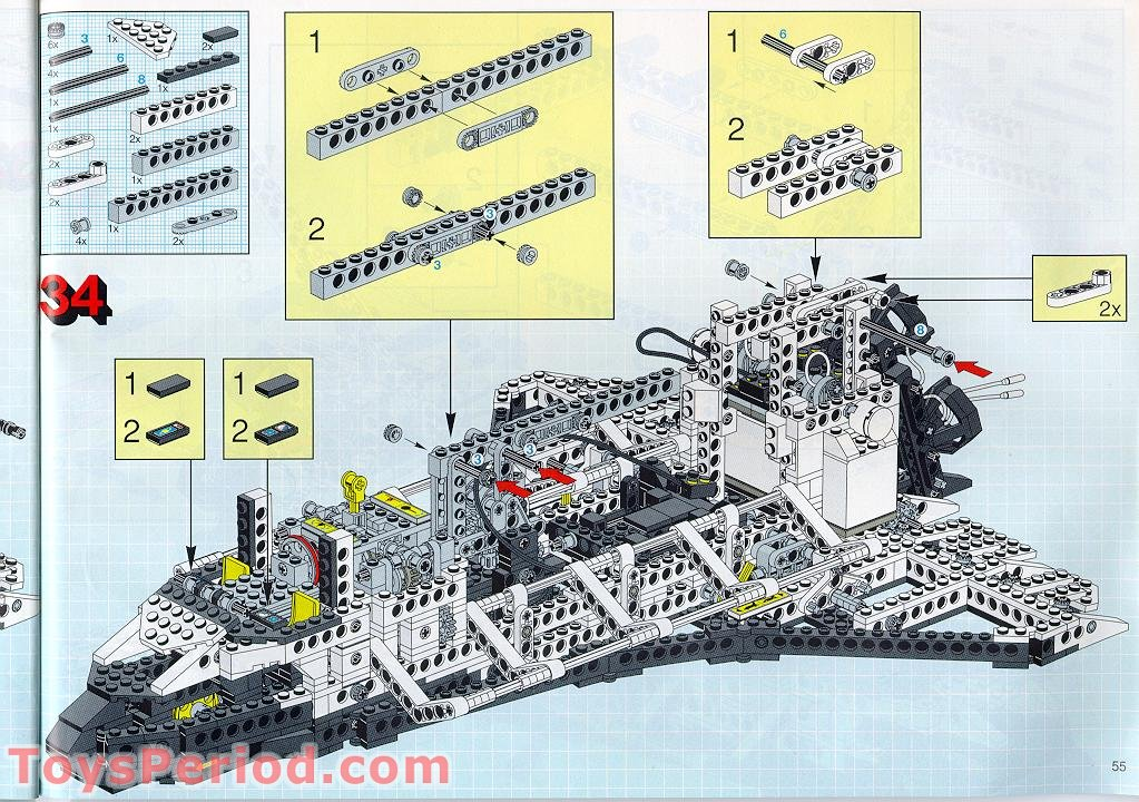 lego technic space shuttle 8480 ebay - photo #26