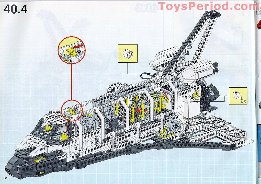 lego space shuttle parts list - photo #14