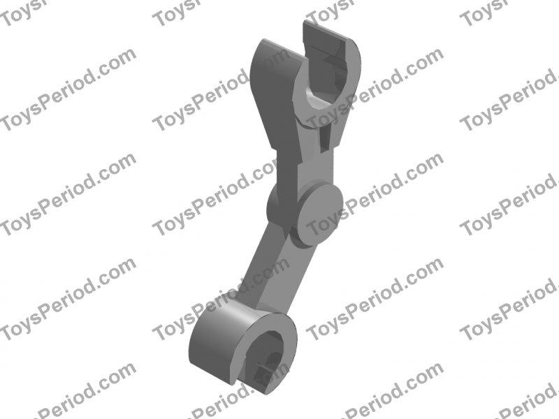 4210900 Brick 30377 10x LEGO NEW Dark Stone Grey Mechanical Bent Droid Arm