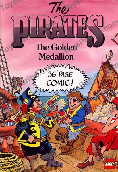 Lego 6255 Pirate Comic Set Parts Inventory And