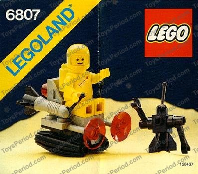 Set 6892 6950 6980 6952 6807 6847 6930... Personnage LEGO space minifig 973p90