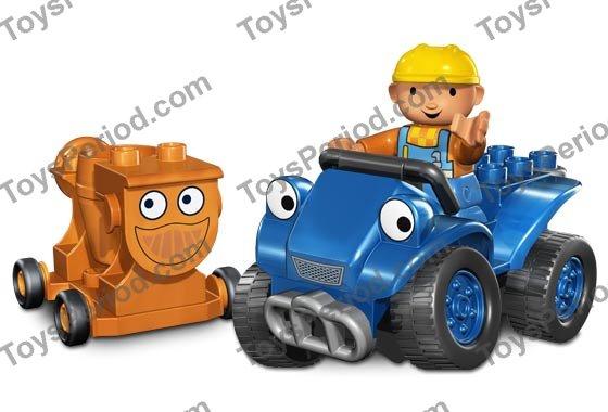 Bob the Builder Dizzy Cement Mixer Drum on Stand LEGO Duplo - Orange