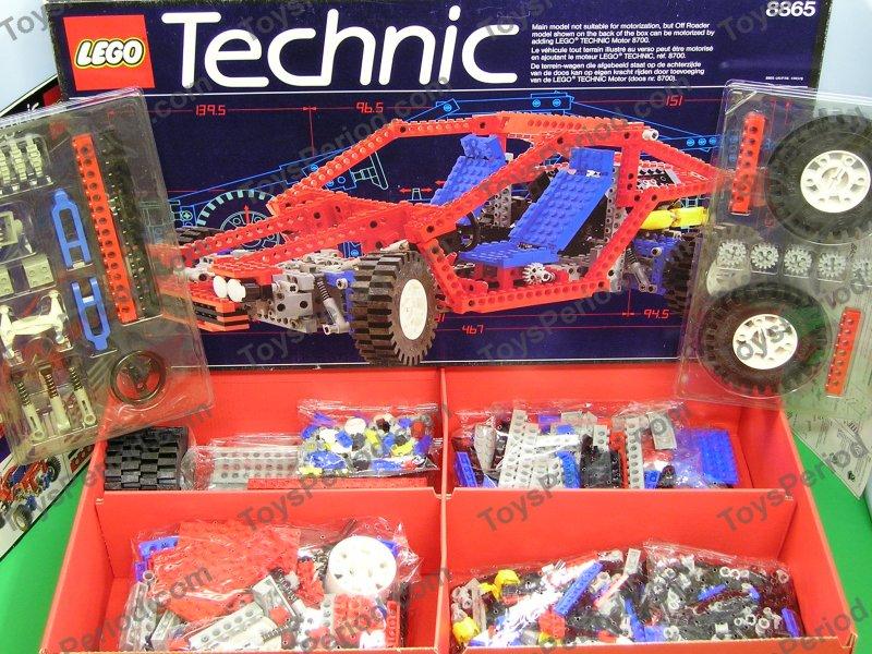 lego 8865 test car vintage technic advanced auto set new image number 2. Black Bedroom Furniture Sets. Home Design Ideas