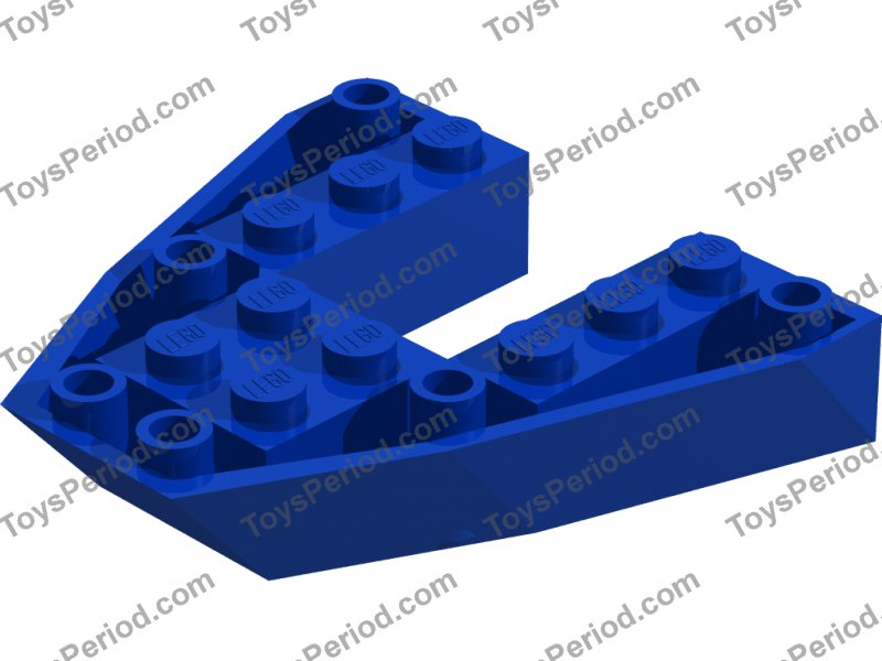 2626 Lego Boat Hull Ends 6x6 Grey x2; ideal for Castle or Town Theme Boats!