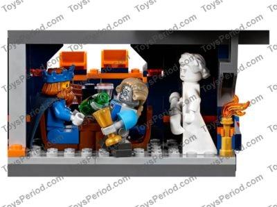 New LEGO Lot of 4 Black 5x2x1 1//3 Space Bracket Pieces