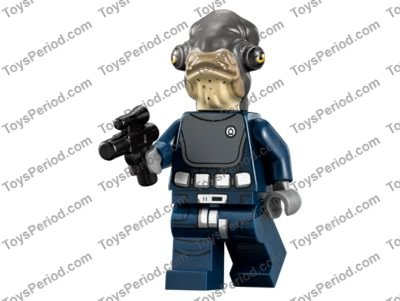 6x Black Small Blaster Pistol Gun Weapon 92738 Lego Star Wars New Pieces