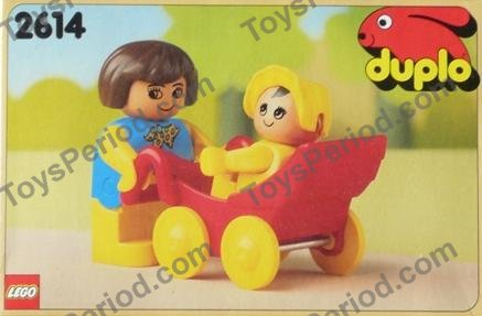 Lego 2614 Mother And Baby Set Parts Inventory And