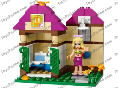 Lego 41008 Heartlake City Pool Set Parts Inventory And Instructions