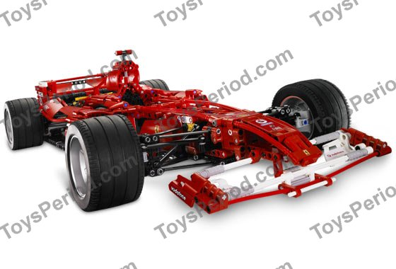 Lego 8674 Ferrari F1 Racer 1 8 Set Parts Inventory And Instructions Lego Reference Guide