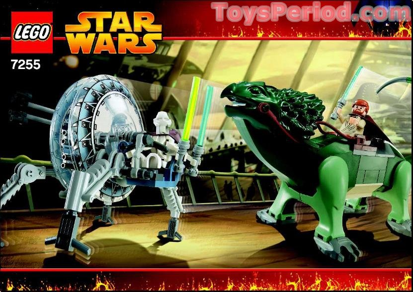 lego star wars general grievous wheel bike instructions
