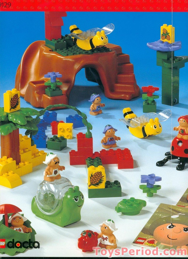 lego 9129 little forest friends set parts inventory and instructions