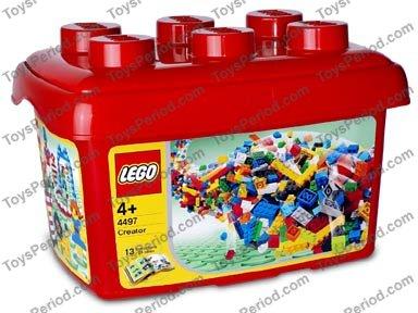 pack of 2 Lego 4497 black spear