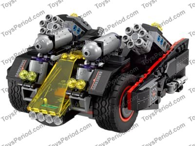 Lego 70917 The Ultimate Batmobile Set Parts Inventory And