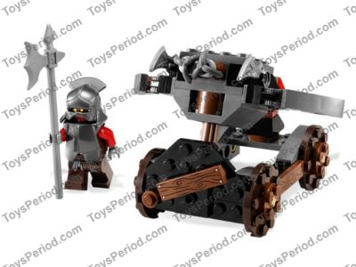 Lego 9471 Uruk Hai Army Set Parts Inventory And Instructions Lego