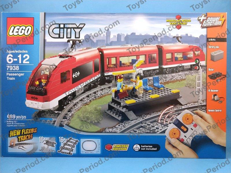 LEGO Instruction Books For Passenger Train Set 7938 2 3 4