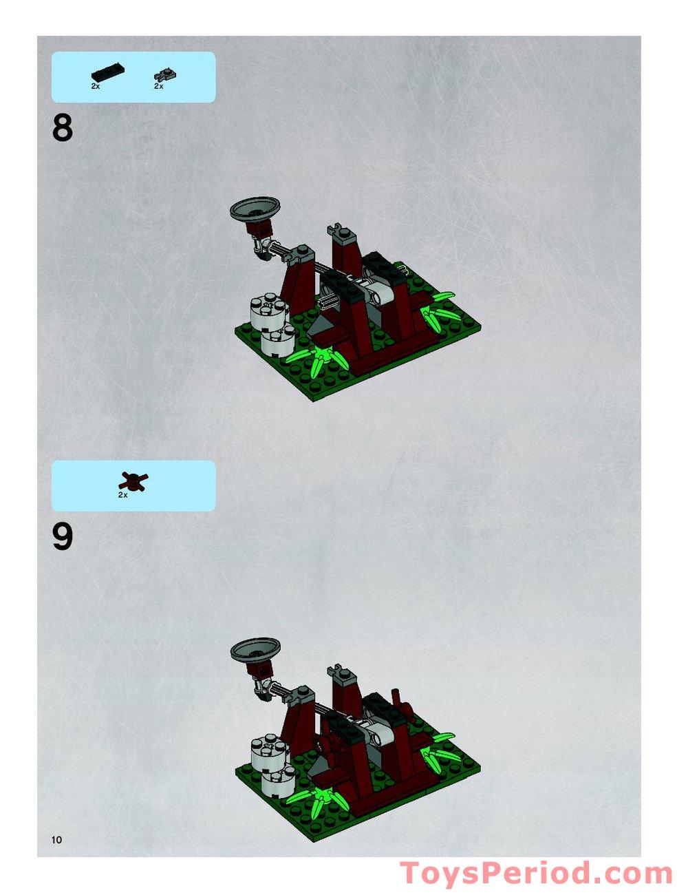 Lego 2x Star Wars Reddish Brown Short Legs Ewok NEW