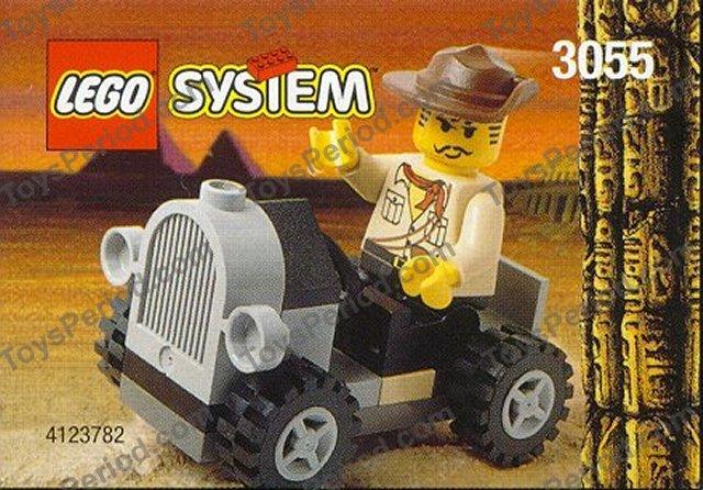 Lego 3055 Adventurers Car Set Parts Inventory And