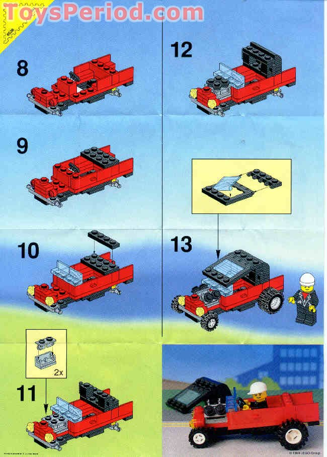 Lego 6538 Rebel Roadster Set Parts Inventory And
