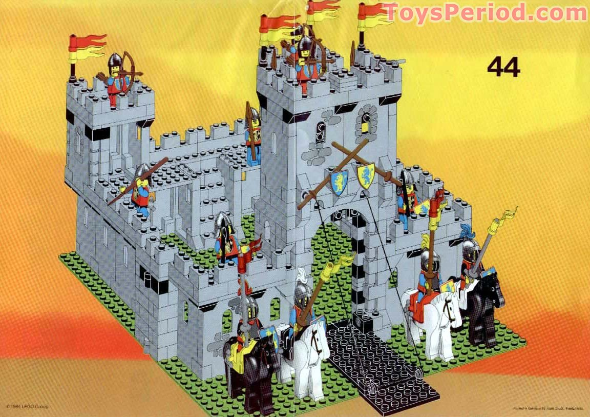 lego 6080 king 39 s castle set parts inventory and instructions lego reference guide. Black Bedroom Furniture Sets. Home Design Ideas