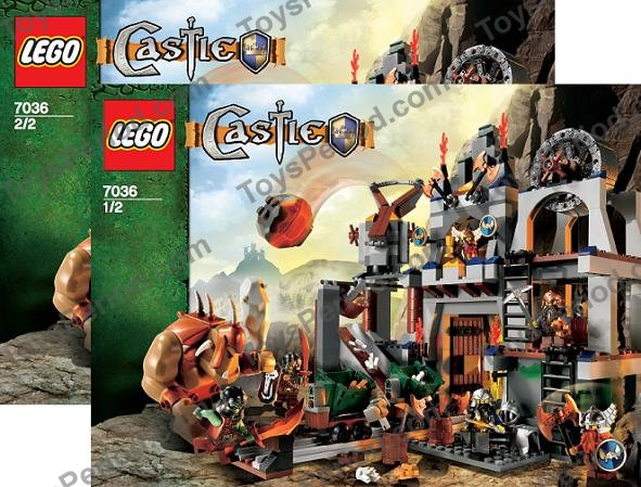 Lego 7036 Dwarves Mine Set Parts Inventory And Instructions Lego