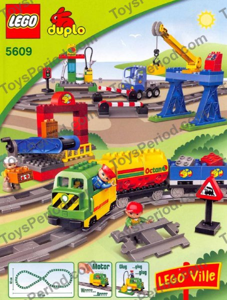 Lego 5609 Deluxe Train Set Set Parts Inventory And Instructions