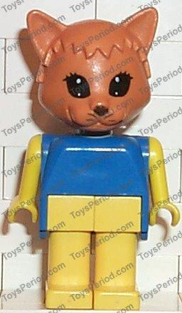 Lego Fabuland x583c01 Minifigure Cat 3701 vintage 01583