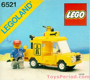Lego 6521 Emergency Repair Truck Set Parts Inventory And