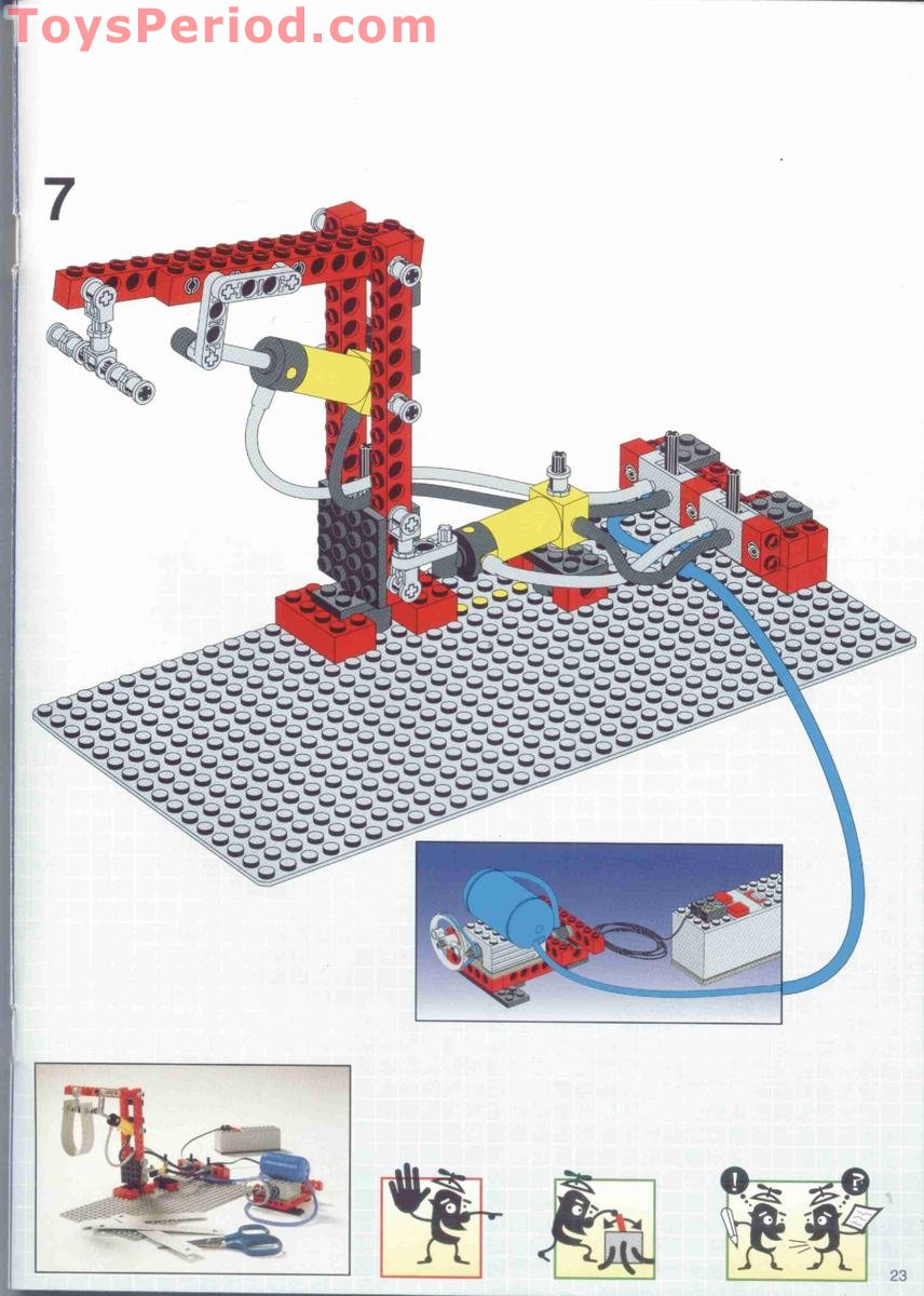 Lego 9633 Advanced Air Power Set Set Parts Inventory And