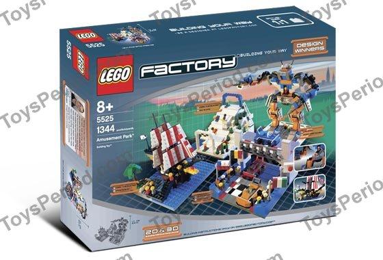 LEGO 5525 Amusement Park Set Parts Inventory and