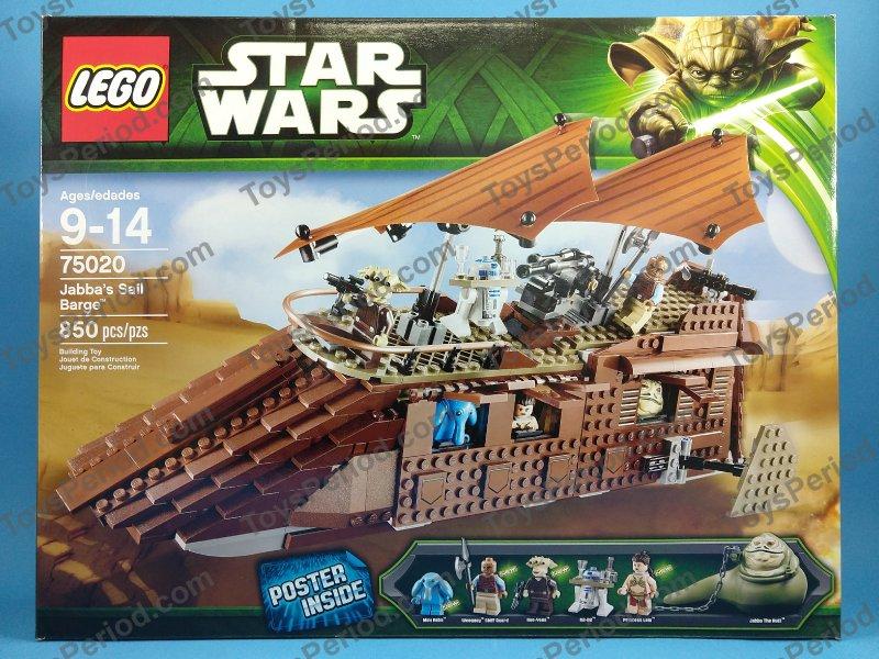 Lego Star Wars Jabba's Sail Barge 75020