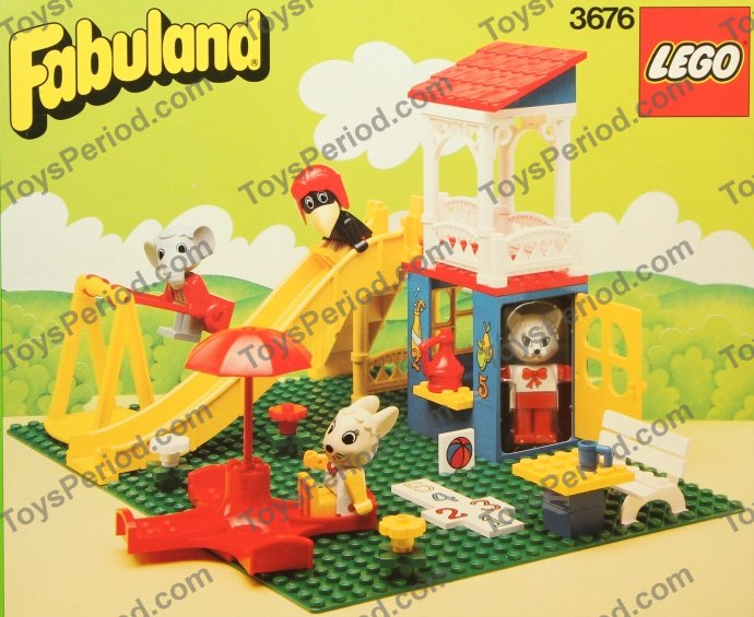 LEGO 3676 Catherine Cat's Fun Park Image 1