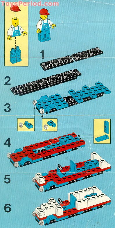 Lego 1572 Super Tow Truck Set Parts Inventory And