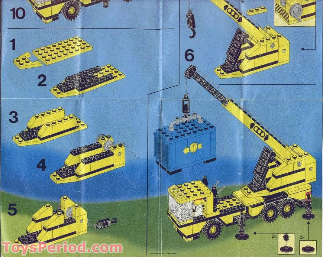 lego 6361 mobile crane set parts inventory and instructions lego reference guide. Black Bedroom Furniture Sets. Home Design Ideas