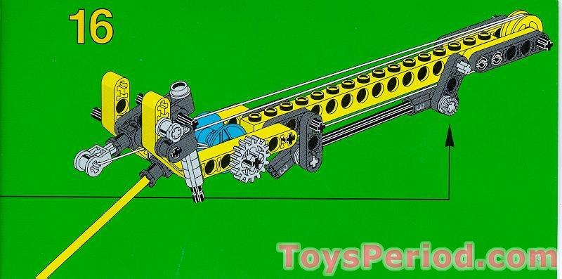 LEGO lot of 2 YELLOW 3 x 3.8 x 7 TECHNIC BEAM BENT 45 DOUBLE 32009