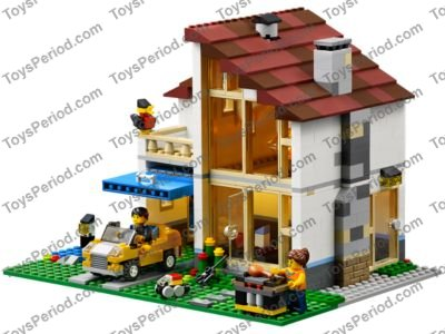 Lego 31012 Family House Set Parts Inventory And Instructions Lego