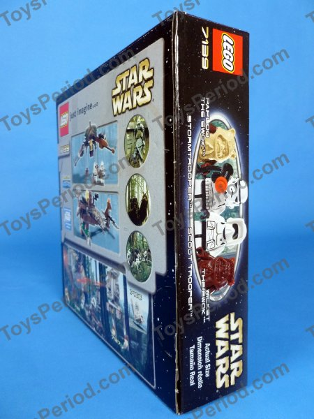 This Image of LEGO 7139 Ewok Attack Classic Star Wars Ewoks Set 2002 ...